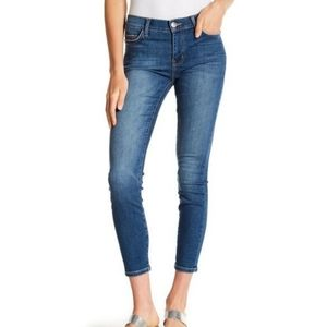 Current/Elliott The Stiletto Cropped Mid-Rise Jean